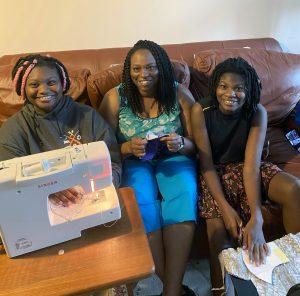 Aiyana Mardenborough and family