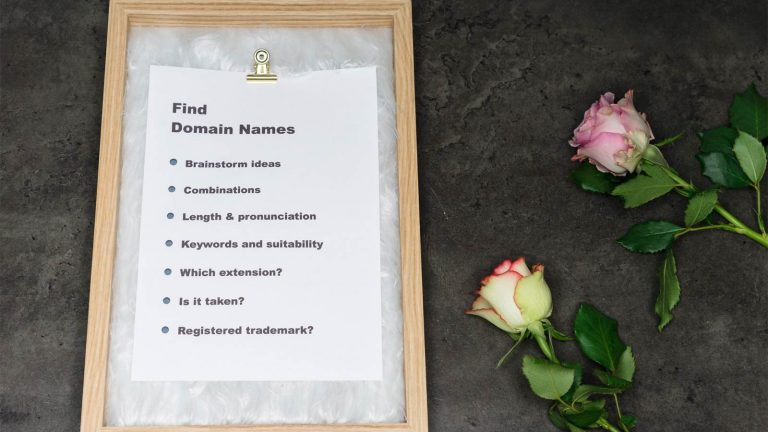Find domain names
